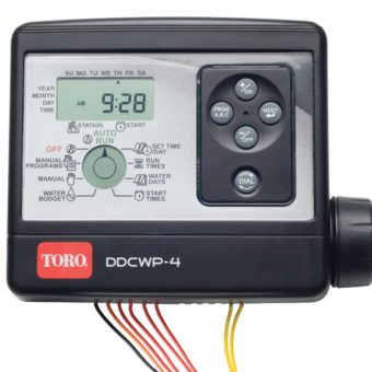 TORO DDCWP-2-9V 2 STATION WATERPROOF BATTERY CONTROLLER