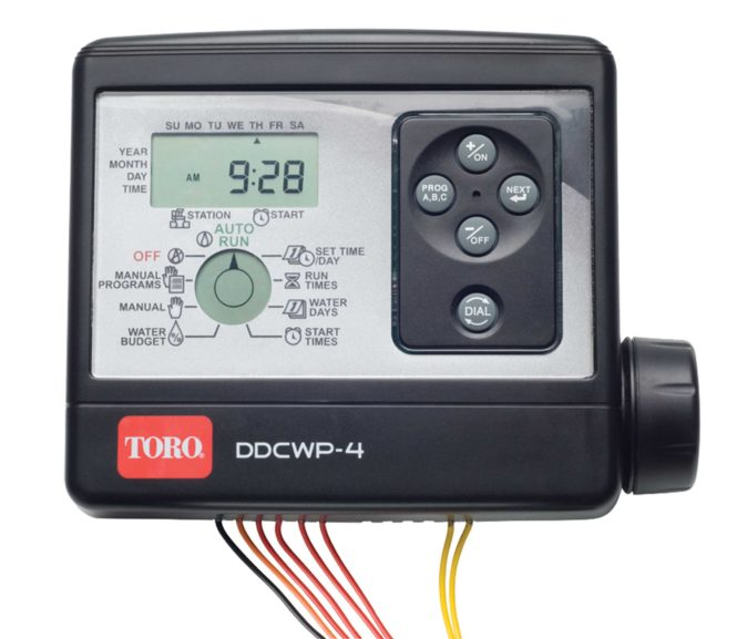 TORO DDCWP-6-9V 6 STATION WATERPROOF BATTERY CONTROLLER