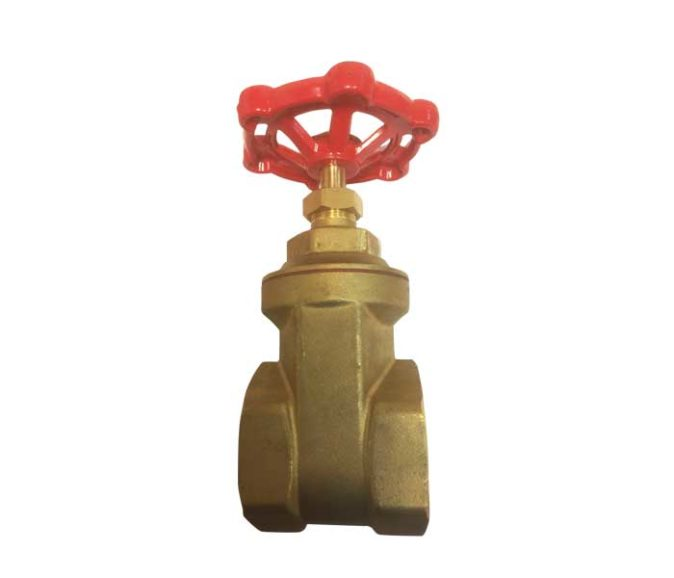 80MM BRASS GATE VALVE