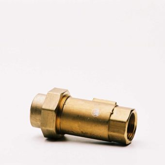 25MM BRONZE DUAL CHECK VALVE
