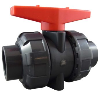 25MM PVC DOUBLE UNION BALL VALVE